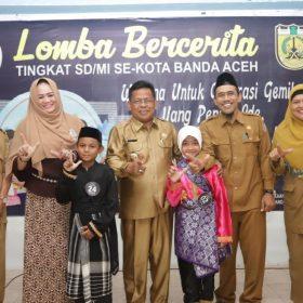 Lomba Bercerita Tingkat SD/MI sederajat se-Kota Banda Aceh Tahun 2019
